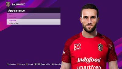 PES 2021 Faces Ilija Spasojević by SR