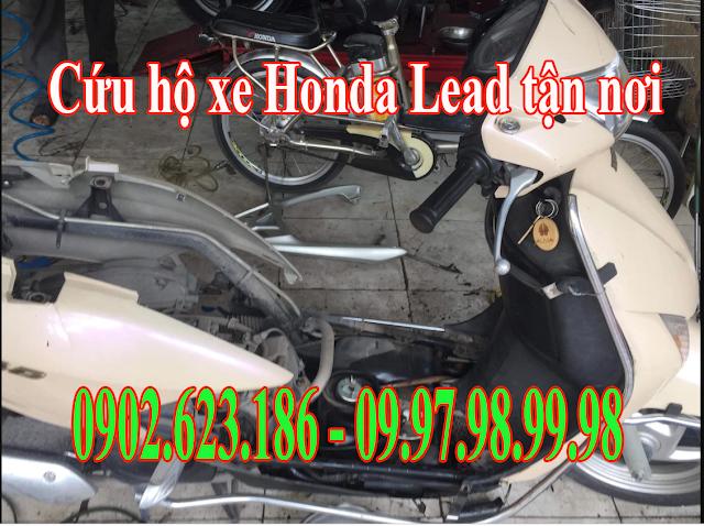 Cứu hộ xe máy Honda Lead tận nơi tại Tp.HCM - Gọi ngay 0902623186