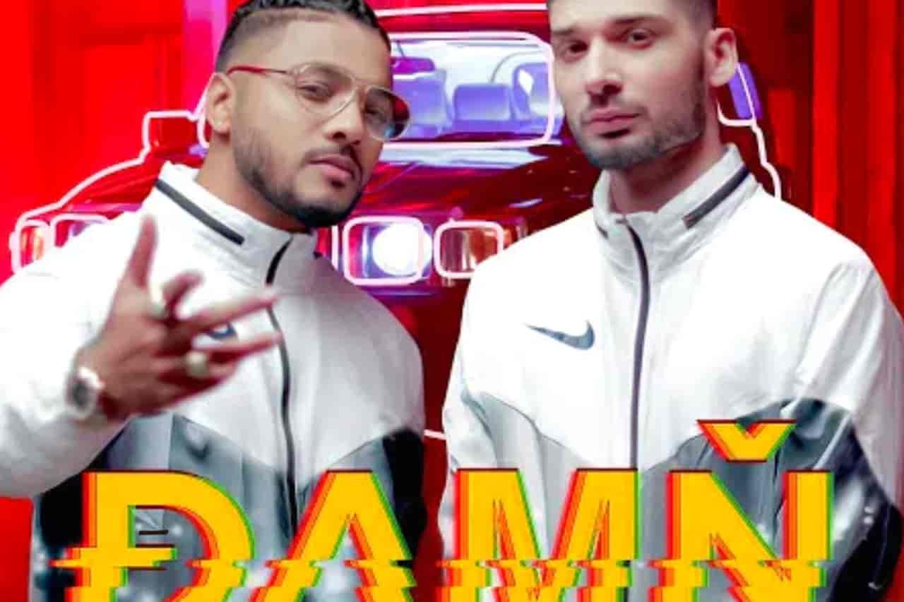 Damn Rap Song Image By Raftaar Ft. Kr$na