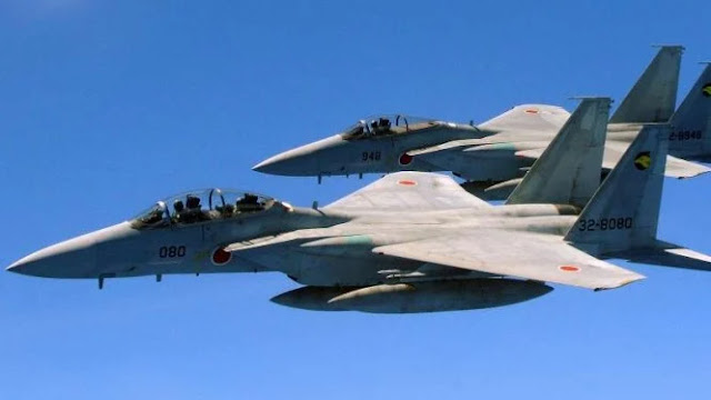 Gerah dengan Aksi Songong China, Jepang Kerahkan Sejumlah Jet Tempur