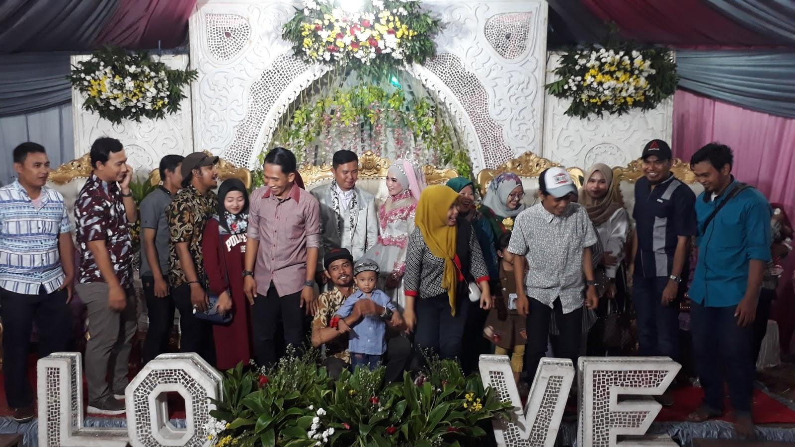 Pernikahan Nur Aini dengan Anggi Suprayogi