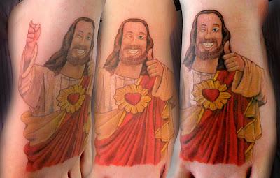 Tatuaje Meme Jesús