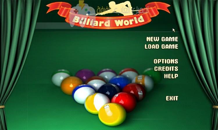 تحميل لعبة البلياردو Billiard World للكمبيوتر وللاندرويد