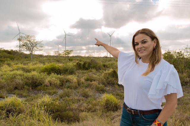 Impulsará Cecilia Patrón energías limpias y renovables, ante aprobación de Reforma Eléctrica