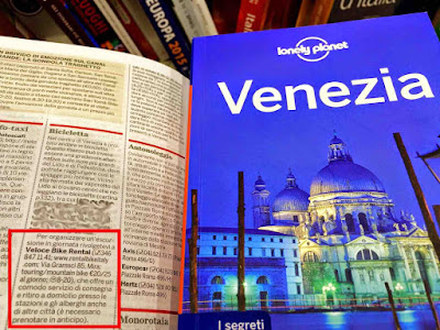 lonely planet travel book English language Venice venezia
