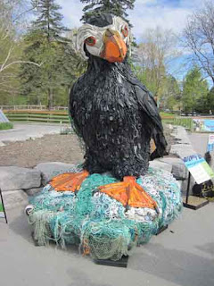 Sebastian James The Puffin at Washed Ashore Toronto Zoo