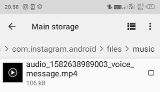 Cara Menyimpan Foto, Video, Voice Note Dari DM Instagram