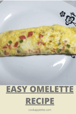 Scrambled eggs are super easy to make, but to much of scrambled eggs can be boring. The good thing is that you can transform eggs into something sophisticated called omelette or omelet