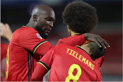 Belgium and England