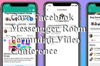 Cara Facebook Messenger Room Permudah Video Conference