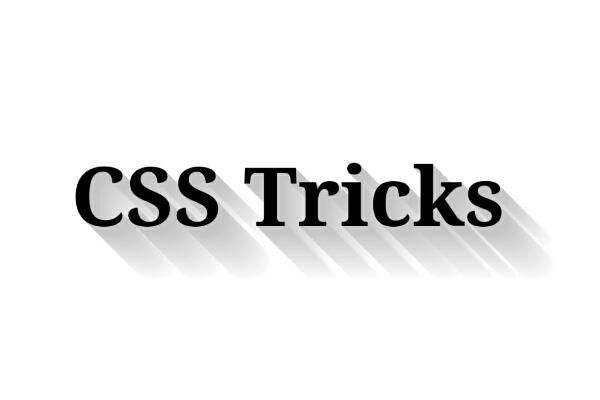 CSS Trik : Membuat Text Long Shadow Dengan CSS