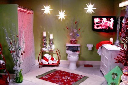 Dekorere badet til jul