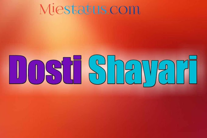 Dosti Shayari in Hindi Sad - हिंदी सैड दोस्ती शायरी (Latest)