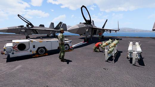 Arma3の空母向けの新しいプロップ