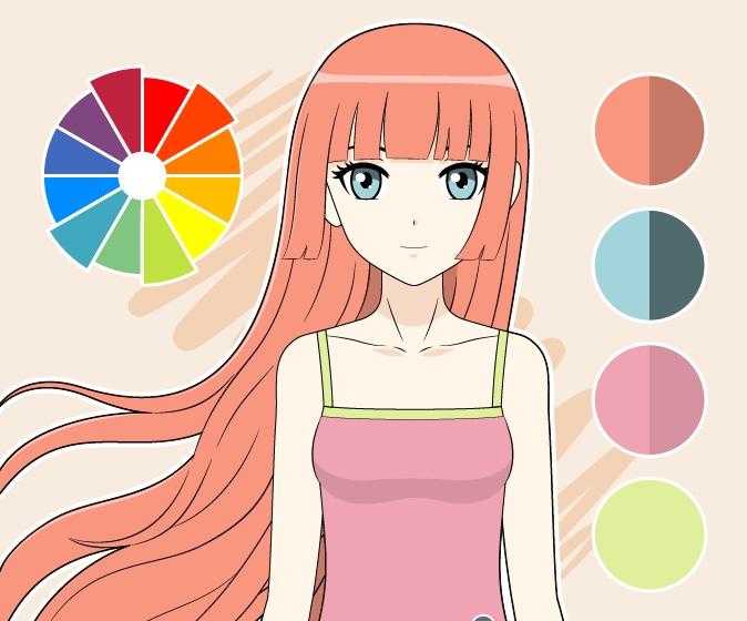 Gambar warna tetradik 2