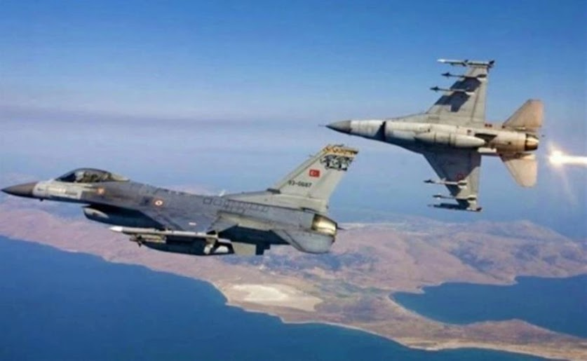 Αιγαίο: 30 παραβιάσεις από τουρκικά πολεμικά αεροσκάφη