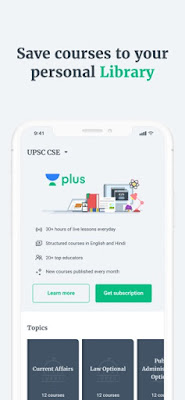 Unacademy App for PC features