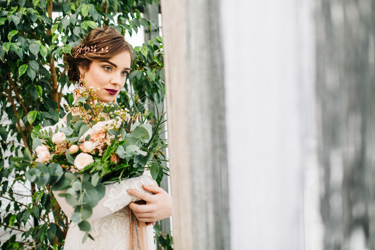 Srebro i miedź jako kolory przewodnie ślubu i wesela