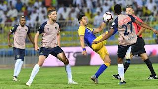 موعد مباراة النصر والتعاون الخميس 28-11-2019 في الدوري السعودي والقنوات الناقلة
