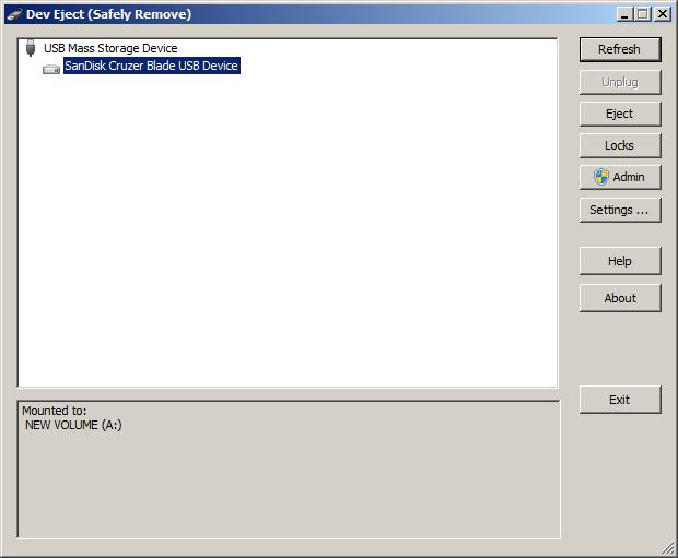 برنامج Dev Eject لحماية مفتاح USB و MEMORY CARD من التلف