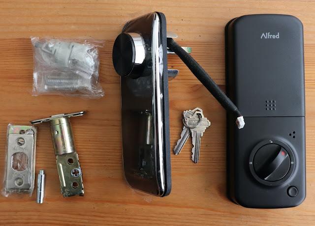alfred db2-b touchscreen smartlock