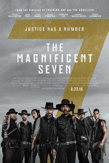 Los Siete Magnificos (2016) DVDRip Latino