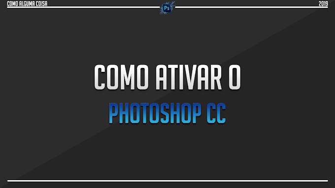 Como ativar o Photoshop CC