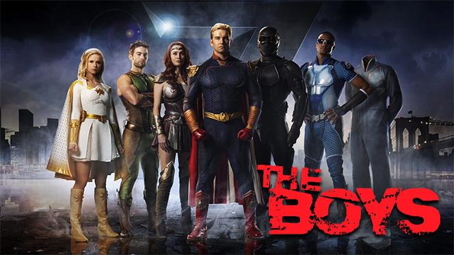 The Boys (2019) Temporada 1 Web-DL 1080p Latino-Ingles