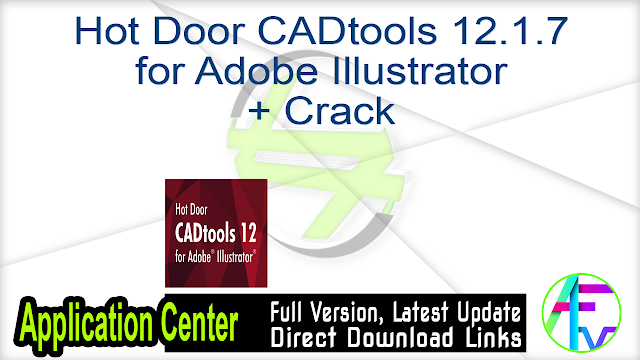 Hot Door CADtools 12.1.7 for Adobe Illustrator + Crack