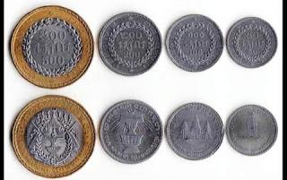 uang koin riel negara Cambodia kamboja