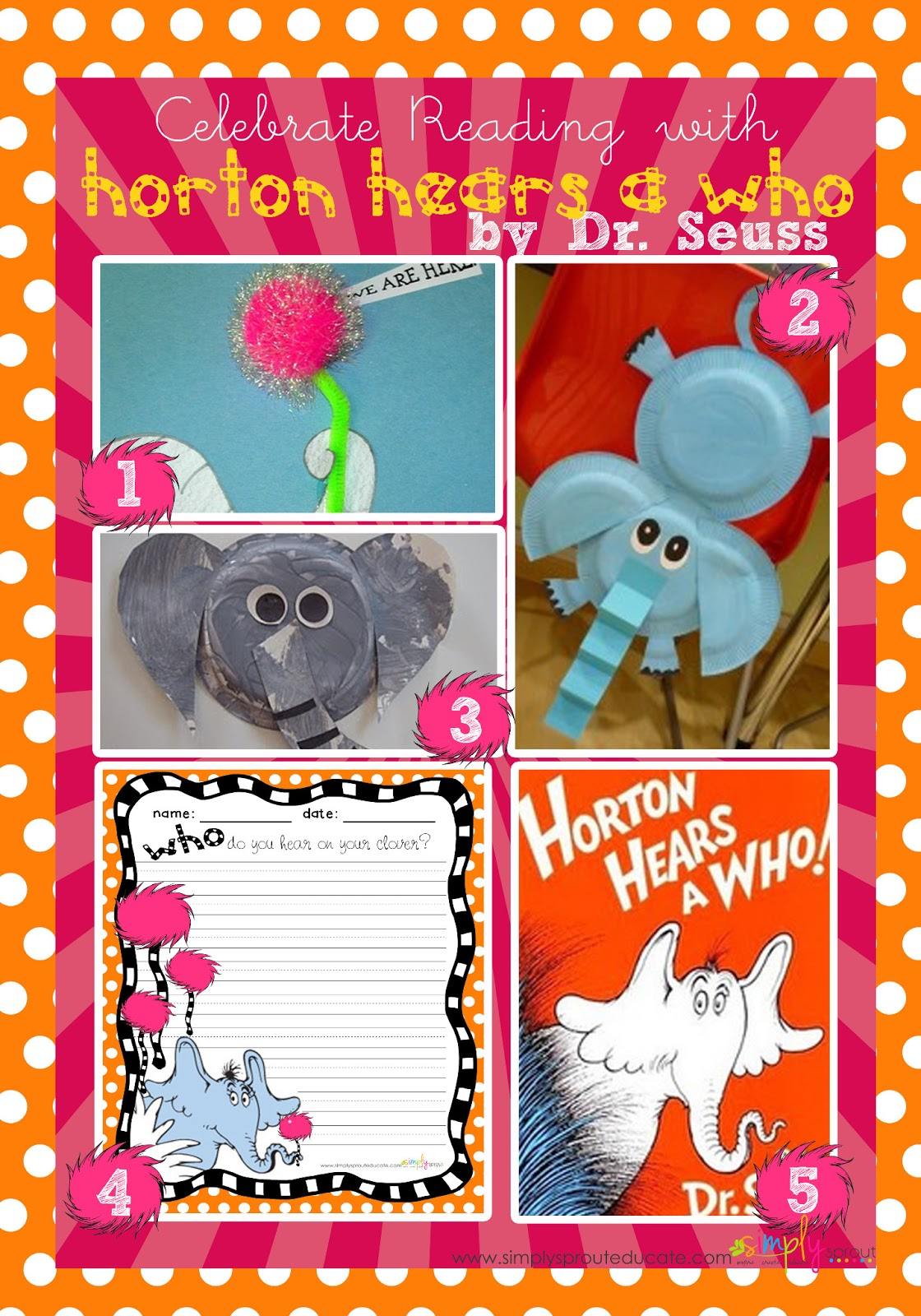 celebrate reading with horton hears a who simply sprout