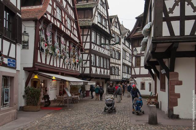 Alsacia Estrasburgo La Petite France