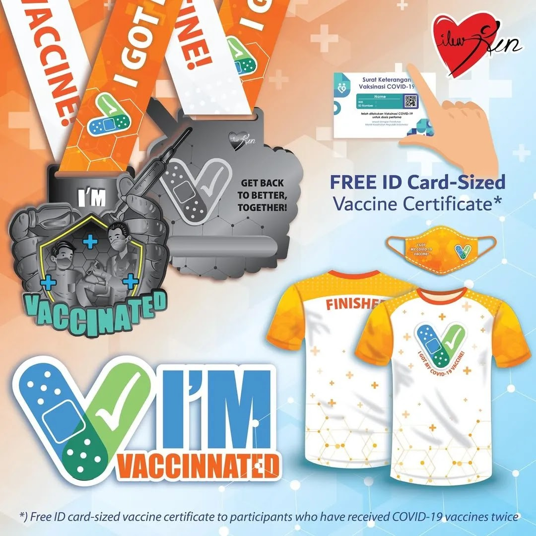 I'm Vaccinated Run • 2021