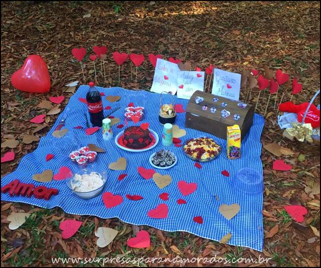 piquenique romântico