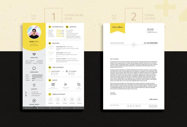 Download-Template-CV-Kreatif-dan-Surat-Lamaran-Format-PSD-Ai-Format