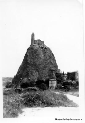 Vieille photo noir et blanc, le Puy