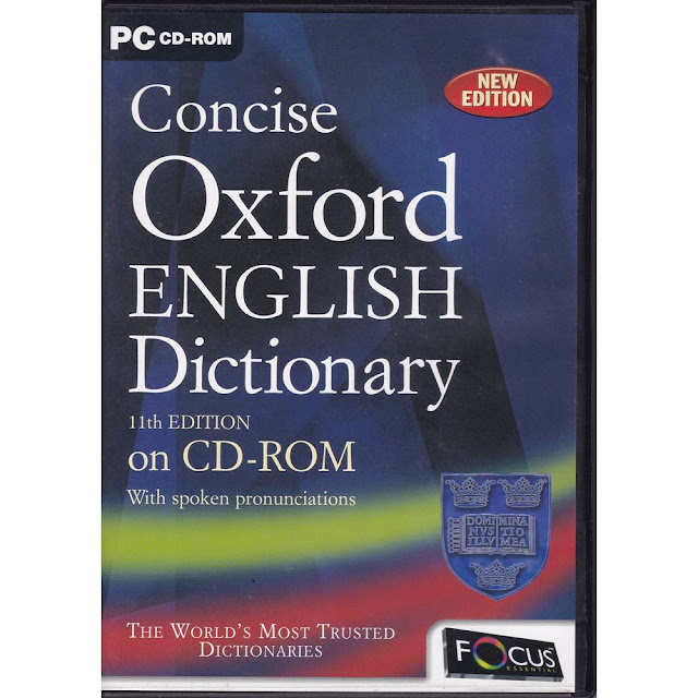 OXFORD DICTIONARY 11TH EDITION Cover Photo