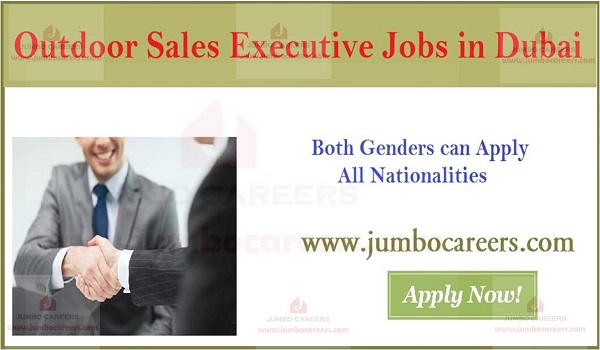 Available sales executive jobs with salary, Current Jobs in Dubai,