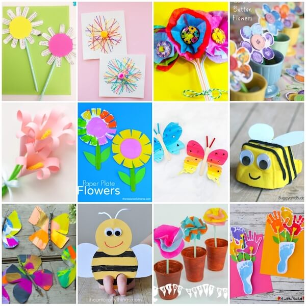 30 Quick Easy Spring Crafts For Kids