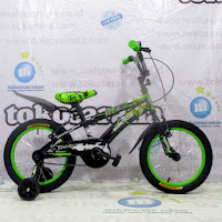 16 wimcycle voltus bmx sepeda