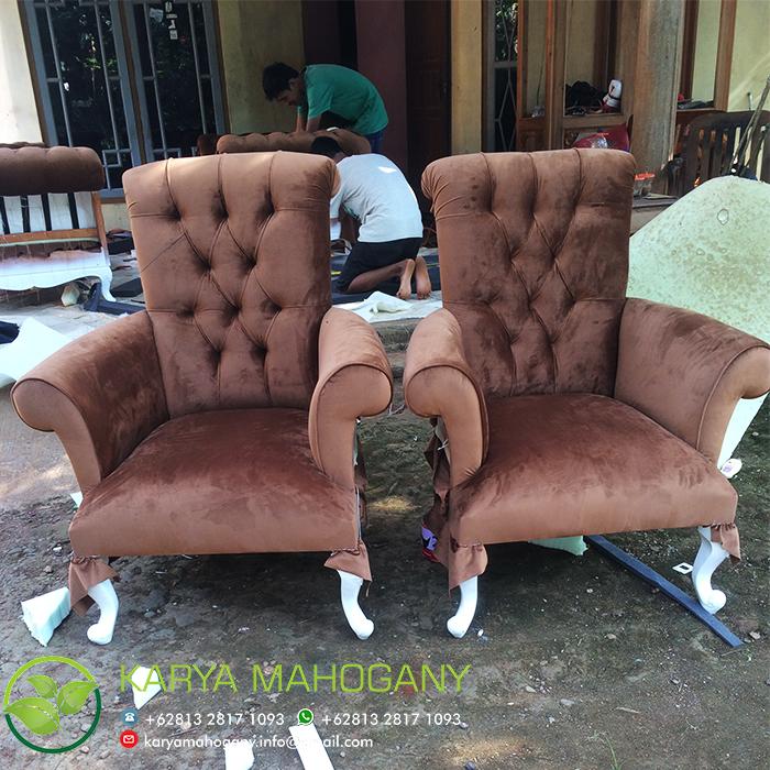 Sofa Satu Seater | Sofa Jepara Minimalis