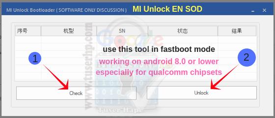 Xiaomi BootLoader Unlock Tool Free - TUSERHP