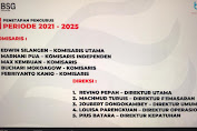 Edwin Silangen Jabat Komut BSG, Ini Komposisinya