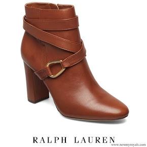 Crown Princess Victoria  wore Ralph Lauren Addington Boots