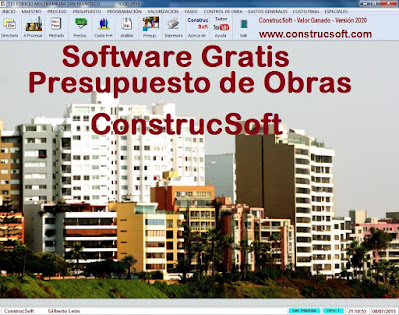Software Gratis para presupuestos