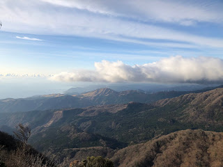 万二郎岳の眺望