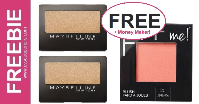 FREE Maybelline Fit Me Blush CVS Deal 3/8-3/14