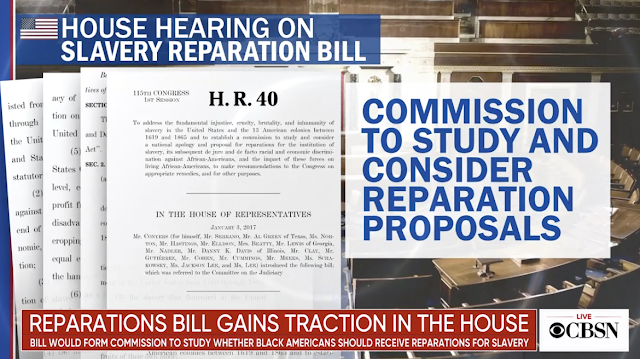 Schumer announces support for bill to form committee on reparations