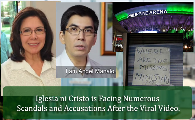 Iglesia ni Cristo is Facing Numerous Scandals and Accusations After the Viral Video.