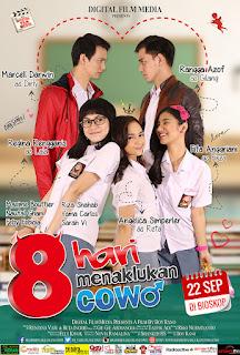 Film 8 Hari Menaklukan Cowok Promo di SMK Tritech Medan